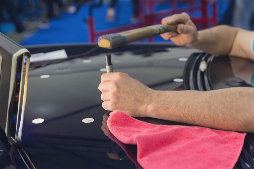 Common Tools Used in Paintless Dent Repair