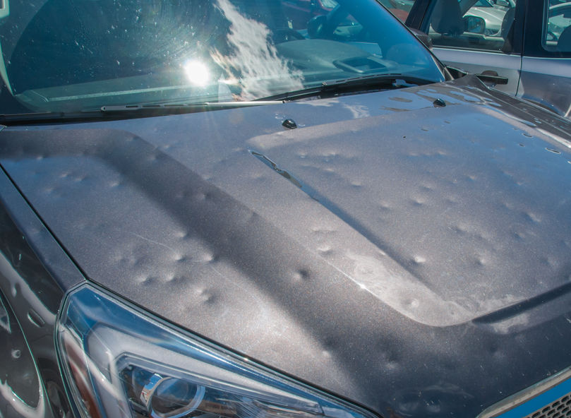 What Should You Do If Your Car Has Been Hit by Hail?