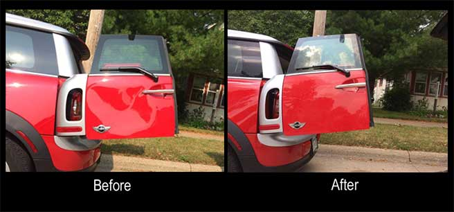 Paintless Dent Repair in Bloomington, Minnesota